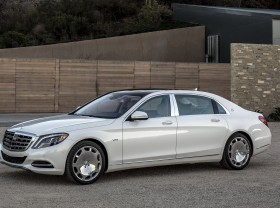 Богачи предпочитают Mercedes-Benz Maybach S-Class